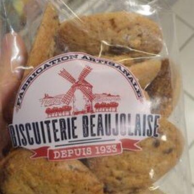 Cookies noix & chocolat (Biscuiterie beaujolaise)
