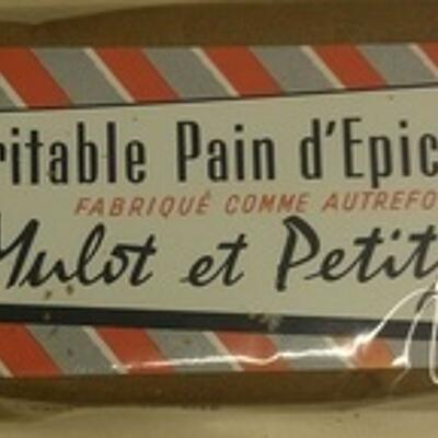 Véritable pain d'épices de dijon (Mulot & petitjean)