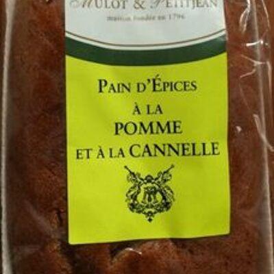 Pain d'épices à la pomme et à la cannelle (Mulot & petitjean)