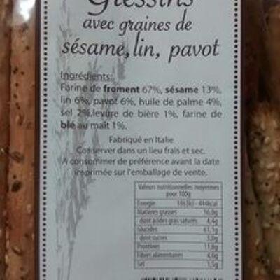 Gressins (Les saveurs du clavon)