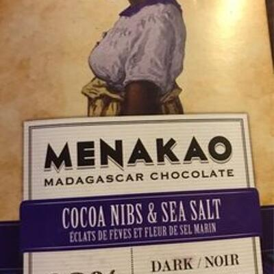 Dark chocolate 63% (Menakao)