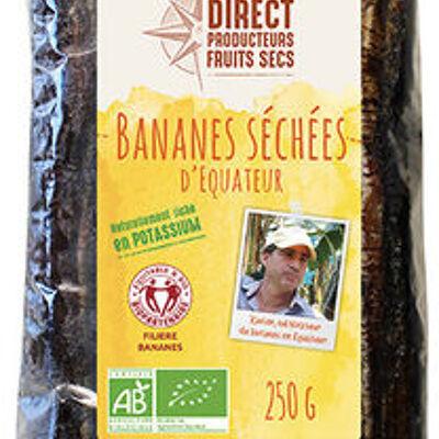 Bananes séchées 250g (Direct producteurs fruits secs)