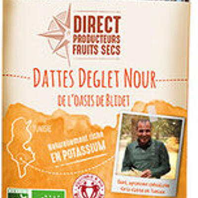 Dattes deglet nour bio (Direct producteurs fruits secs)