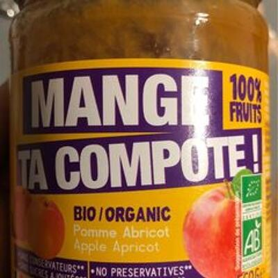 Compote pomme abricot (Mange ta compote)