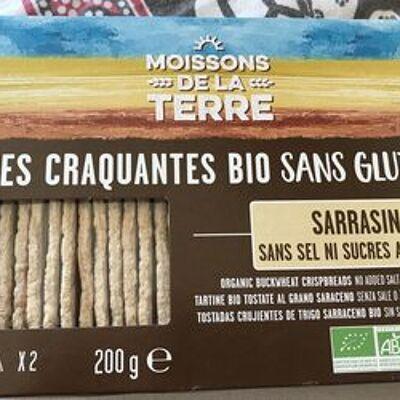Tartines craquantes sarrasin (Moissons de la terre)