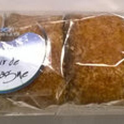Nonnettes au miel fourrées myrtille (Eden chocolats)