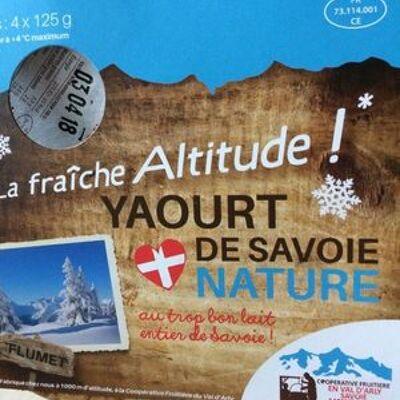 Yaourt nature (Flumet)