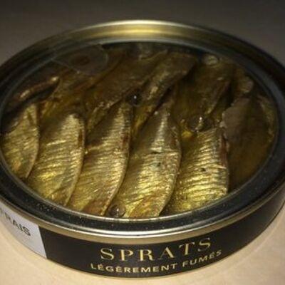 Sprats légèrement fumés (Sea frais gold)