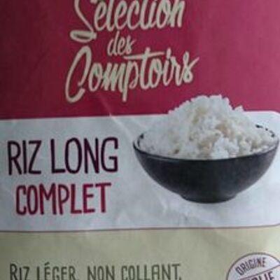 Riz long complet (Selection des comptoirs)