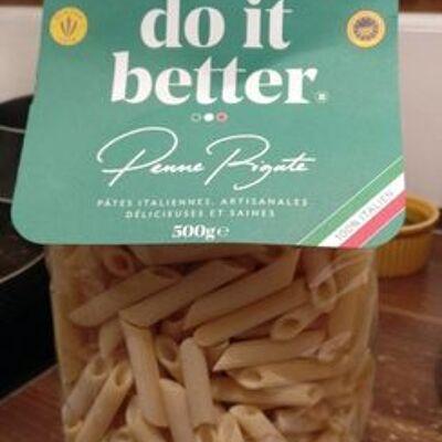 Penne rigate (Italians do it better)