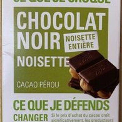 Ethiquable - chocolat noir noisette (Ethiquable)