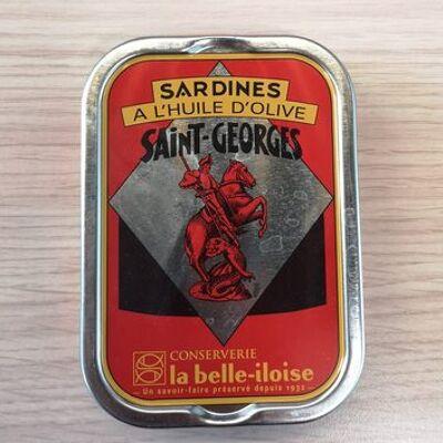 Sardines à l'huile d'olive saint-georges (La belle iloise)