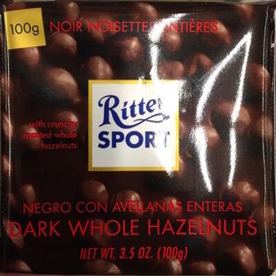 Ritter sport noir noisettes entières (Ritter sport)