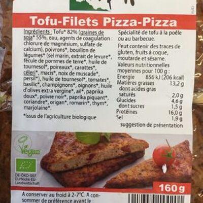 Tofu-filets pizza-pizza (Taifun)