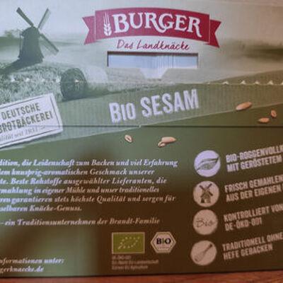 Craque pain sésame (Burger)