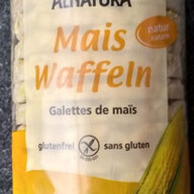 Mais waffeln (Alnatura)