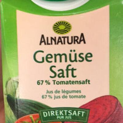 Gemüsesaft (Alnatura)