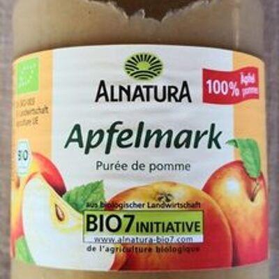 Apfelmark - puree de pommes (Alnatura)