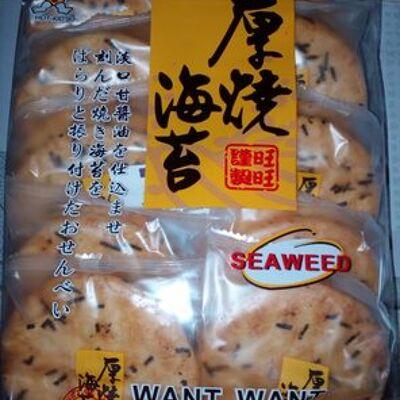 Crackers de riz aux algues (Want want)