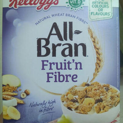 All-bran fruit'n'fibre (Kellogg's)