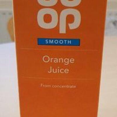 Orange juice (Co-op)