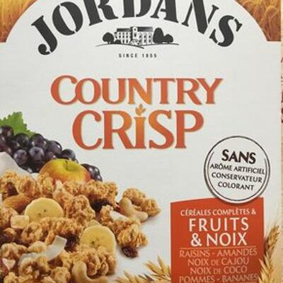 Country crisp fruits & noix (Jordans)