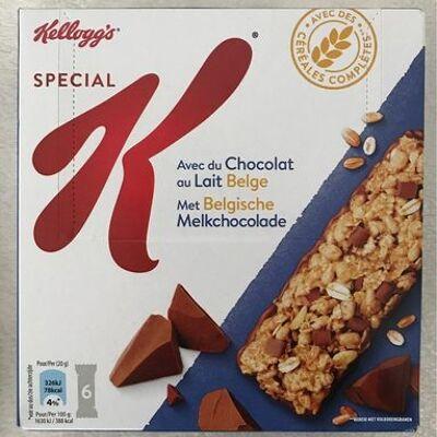 Barre chocolat au lait (Kellogg's)