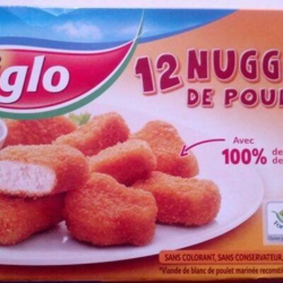 12 nuggets de poulet (Iglo)