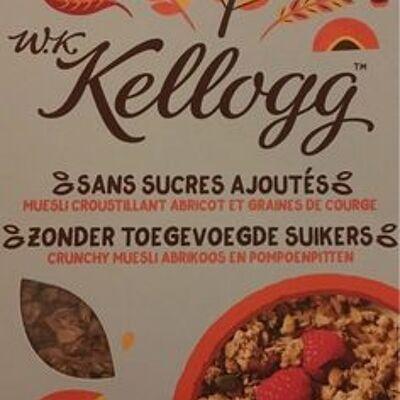 W.k kellogg muesli croustillant abricot et graines de courge (W.k. kellogg)
