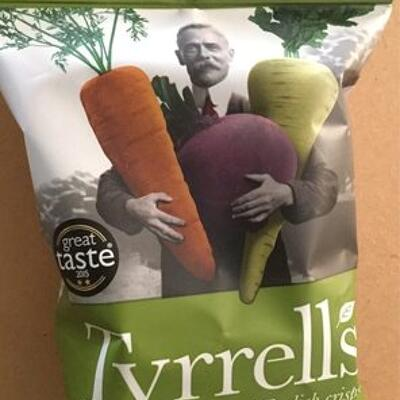 Veg crisps (Tyrrells)