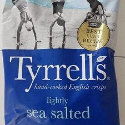 Lightly sea salted (Tyrrell's)