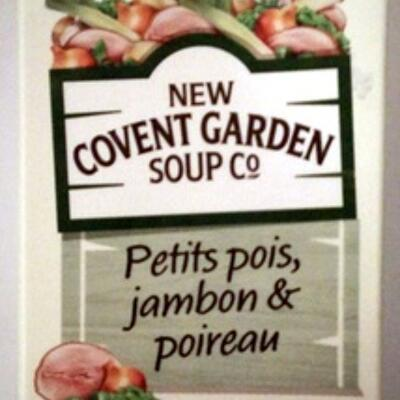 Petits pois, jambon & poireau (New covent garden company)