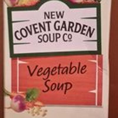 Vegetable soup (New covent garden soup co)