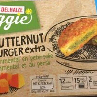 Butternut burger extra à l'emmental et au persil (Delhaize bio)
