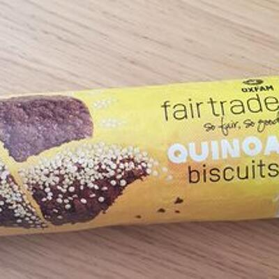 Quinoa biscuits (Oxfam fairtrade)