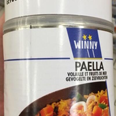 Paella volaille et fruits de mer (Winny)