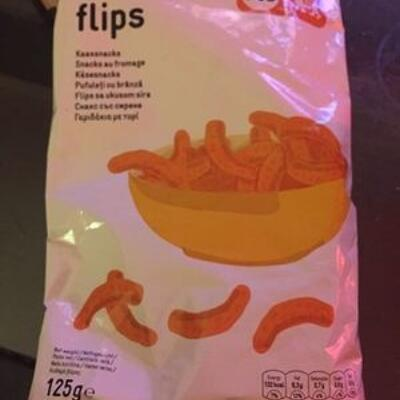 Cheese flips (Delhaize)