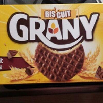 Biscuit grany chocolat au lait (Lu)