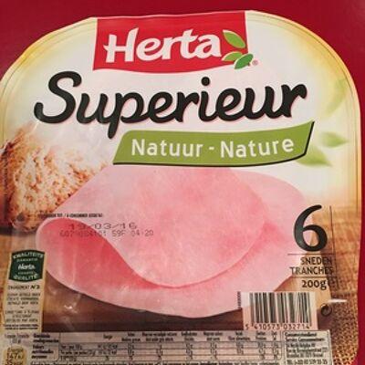Jambon supérieur nature (Herta)