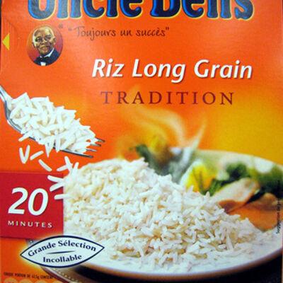 Riz long grain tradition (Uncle ben's)