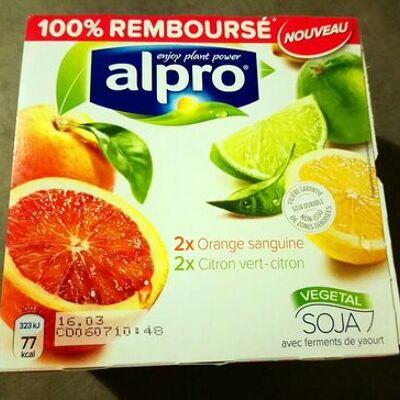 Yaourt agrumes (Alpro)