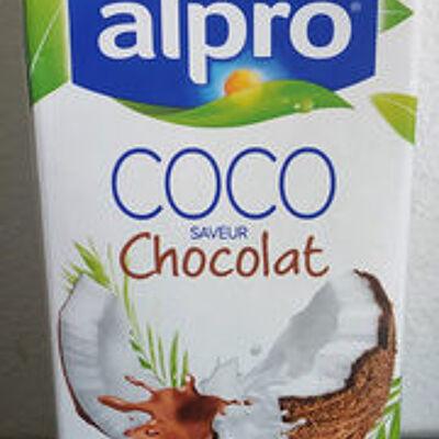 Boisson coco saveur chocolat (Alpro)