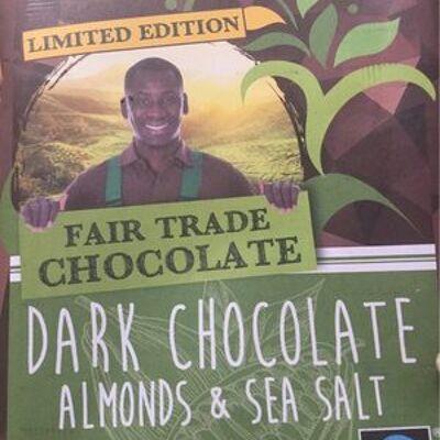 Dark chocolat almonds&sea salt (Choc fair)
