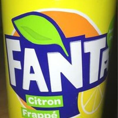 Fanta citron frappé (Fanta)