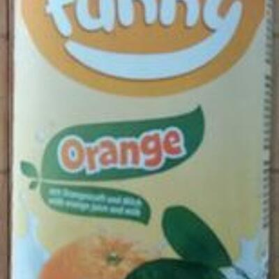 Funny orange 0.75l (Luxlait)