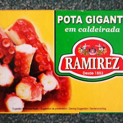 Poulpe ravigote (Ramirez)
