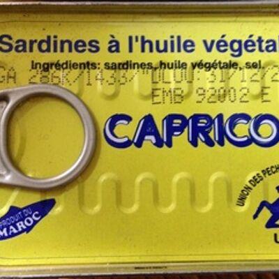 Sardines à l huile végétale (I.c.c.)