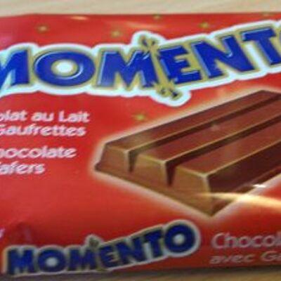 Chocolat au lait avec gaufrettes (Momento)