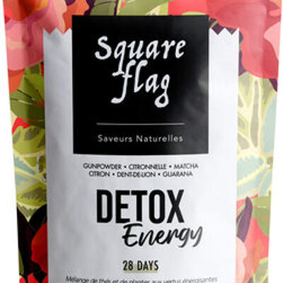 Detox energy (Square flag)