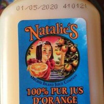 Jus d'orange de floride (Natalie's)
